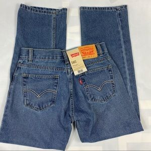 Levi's 505 Men's Straight Fit Jeans 27x27 14 New ✨